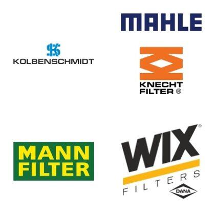 KOLBENSCHMIDT, MAHLE (KNECHT, BERH), MANN FILTER, WIX