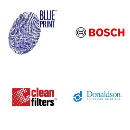 BLUEPRINT, BOSCH, CLEAN FILTERS, DONALDSON