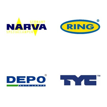 NARVA, RING AUTOMOTIVE, DEPO, TYC