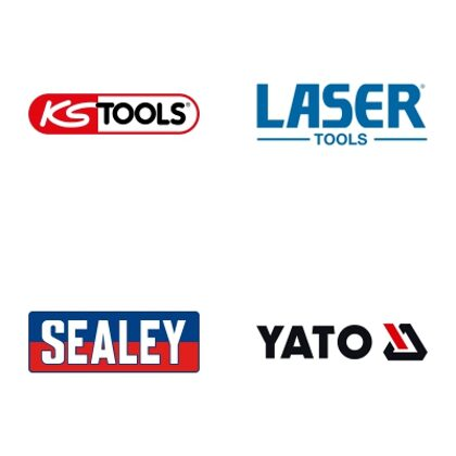 KS TOOLS, LASER TOOLS, SEALEY, YATO