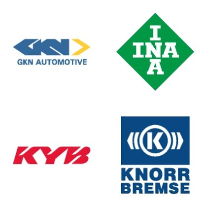 GKN AUTOMOTIVE, INA, KYB, KNORR BREMSE